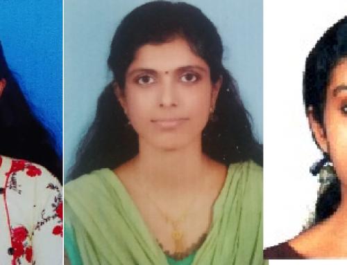 Kerala University Rank Holders 2017- 2020 Batch Department of Sanskrit