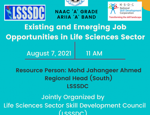 Existing and Emerging Job Opportunities in Life Sciences Sector