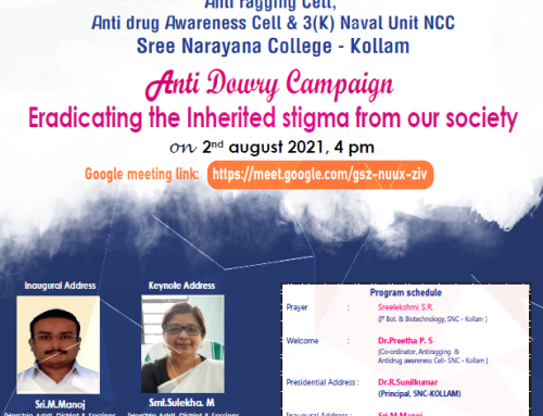 Anti Dowry Campaign: Eradicating the Inherited stigma from our society (02.08.21)