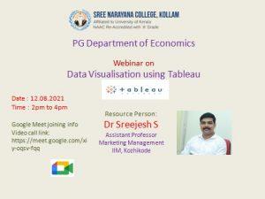One day Webinar- PG Department of Economics