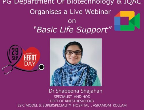 Webinar on 'Basic Life Support'