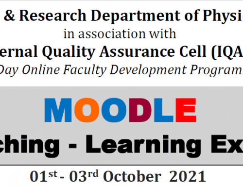 """""""MOODLE""""- The Teaching – Learning Experience"""