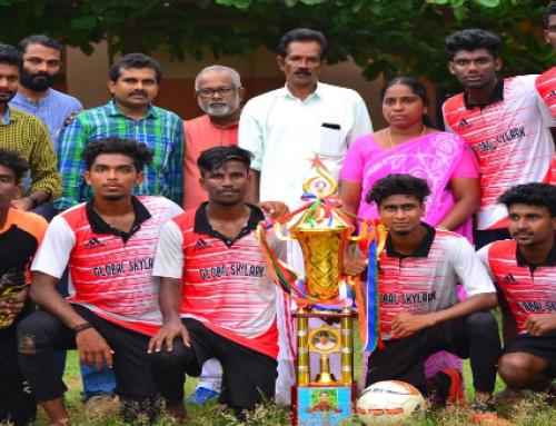 Anith Memorial Ever rolling Football Tournament First Prize Winner 2020 Department of  Sanskrit