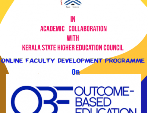 Online Faculty Development Programme on Outcome Based Education