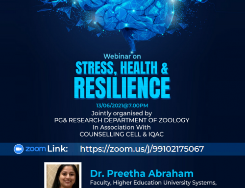 Webinar on Stress Health and Resilience